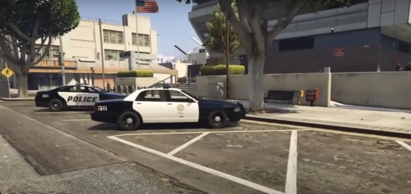 GTA 5 Police Station