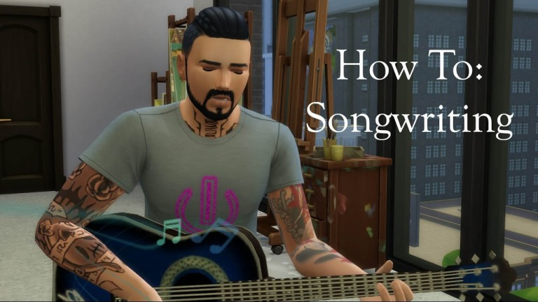 Sims 4 Write Song