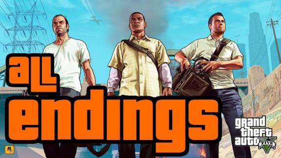 GTA 5 Endings
